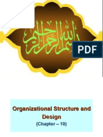 Chap_ 10 - Organizational Structure and Design