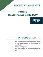 Basic Bonds Analysis