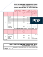 Cement Calculation Sheet