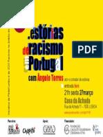 Estórias de racismo em Portugal-cartaz
