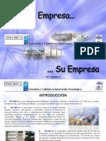 INELMECA - Carpeta Presentación Empresarial 2010 (Enero)