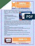 Erfahren Sie, Wie Zu Entwerfen Und Zu Drucken EAN 13 Barcode Font Linear