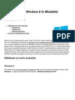 Come Avviare Window 8 in Modalita Provvisoria 2234 Nfecqv