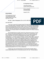 Justice Department Letter in Support of S.E.C.