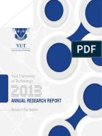 VUT Research Report 2013