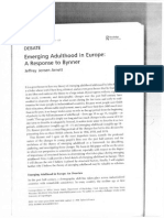 Arnett 2006 Emerging Adulthood in Europe