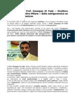 MedCam 2015 Prof Giuseppe Di Fede Dalla Nutrigenomica Un Aiuto All'Alimentazione