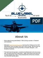 Tech Diving Courses in Phuket, Thailand & Australia