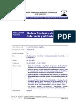 Norma Junta Andalucia Modelos Geodesicos