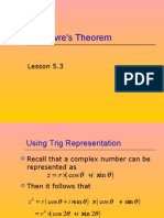 Lesson 5.3DeMoivresTheorm.ppt