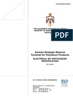 ILF-SPC-SRT-EL-805-0 Electrical MV Switchgear - Specification.pdf