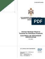 ILF-SPC-SRT-EL-805-0 Electrical MV Switchgear - Specification.pdf