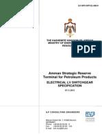 ILF-SPC-SRT-EL-806-0 Electrical LV Switchgear - Specification.pdf