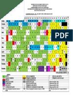 Calendario Escolar - 2015 FORMATADO