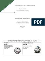 10 Diferencias Entre El Futsal y Futbol de Salon