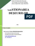 GESTIONAREA DESEURILOR