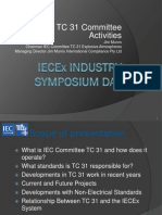 IEC_TC 31 Committee Activities