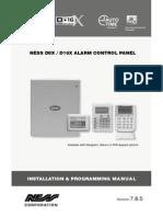 Ness D8xD16x Installer Manual