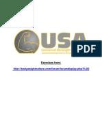 BWC USA Exercises