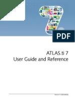 Atlasti v7 Manual 201312