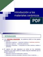1.Introduccion a Los Materiales Ceramicos