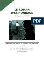 Le Roman d'espionnage 2001-2014
