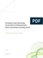 DS Technical Brief Storing and Reusing QlikView Expressions With QlikView Expressor En