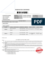 AIR TICKET for Iqubal
