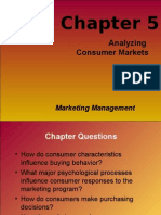 Chapter 5 Analysing Consumer Markets