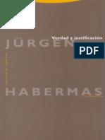 Habermas, Jurgen-2007-Verdad y Justificacion