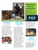 elementary science newsletter march 2015