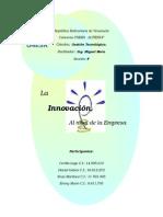 TRABAJO LA INNOVACIÓN EN LA EMPRESA.doc