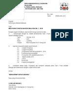Surat Panggilan Mesyuarat Panitia BM Bil 1 2015