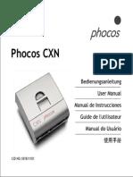 Manual  Cargador Solar CXN