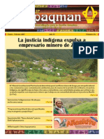 Revista rural bilingüe Conosur Ñawpaqman 154