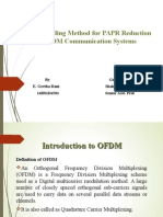 Pre-Scrambling Method for PAPR Reduction in  OFDM Communication Systems