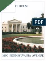 The White House - 1600 Pennsylvania Avenue Booklet