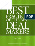 79 Best Practices of Best MA Dealmakers