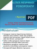 Problema Respirasi Perioperatif