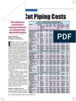 Short-cut Piping Costs
