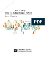 The Budget Act at Forty