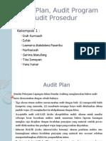 Audit Plan, Audit Program Dan Audit Prosedur (Presentasi)