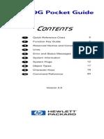 HP49G Pocket Guide