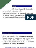 constitucion de sociedades