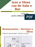 Alimentos e Bebidas serviços a mesa de restaurantes.ppt