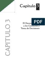 Capitulo3. El Docente Frente a Los Conflictos y Toma de Decisiones