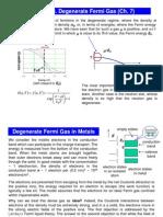 Degenrate Fermi Gas