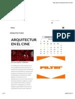 Arquitectura | Cine | Película |