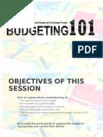 Budgeting 101 26Jan