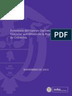 Directorio Cuerpo Diplomatico 31 Octubre